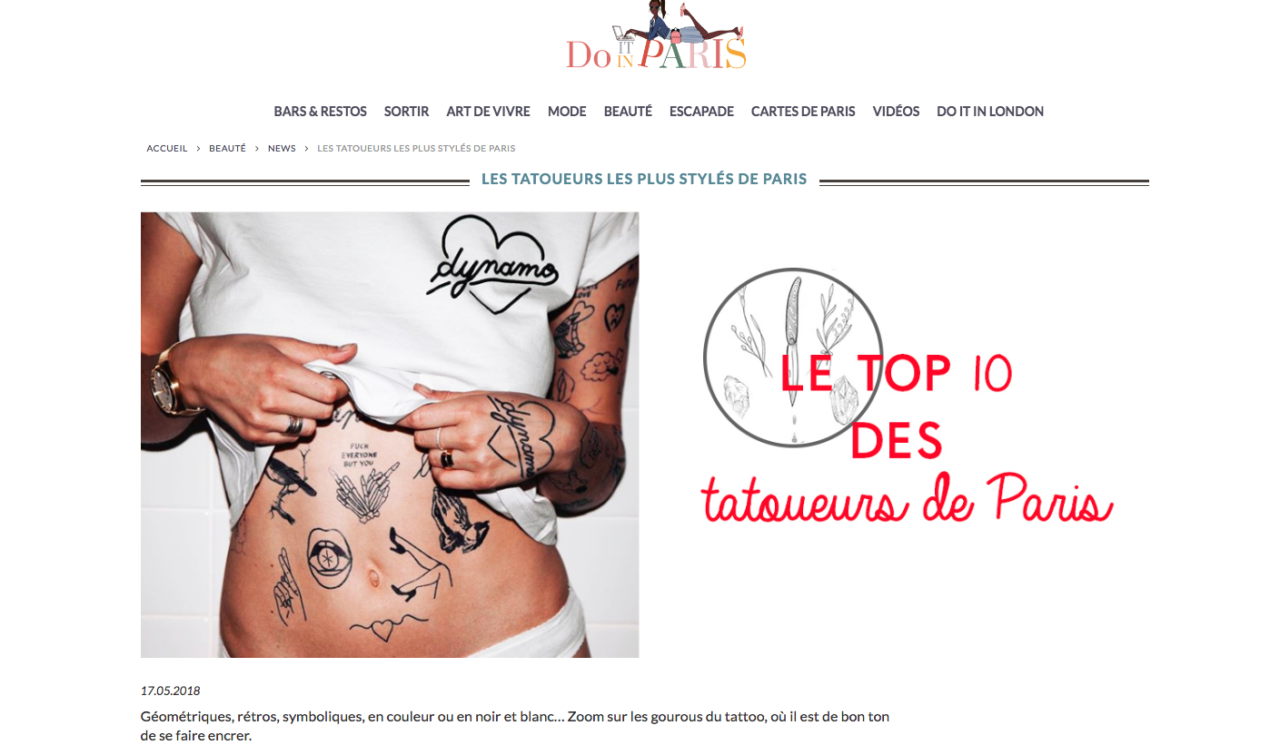 Presse – Do it in Paris